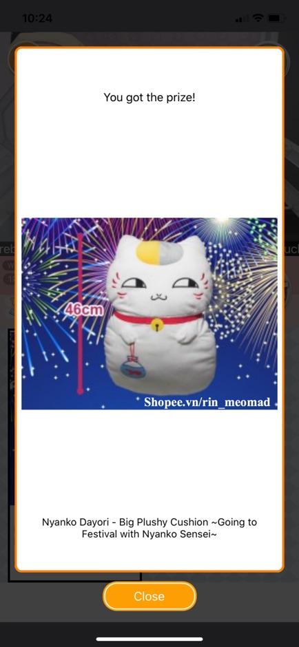 [AUTH] Nyanko Dayori - Big Plushy Cushion ~ Gối ôm Nhật Sanrio Amuse Disney Taito Authentic