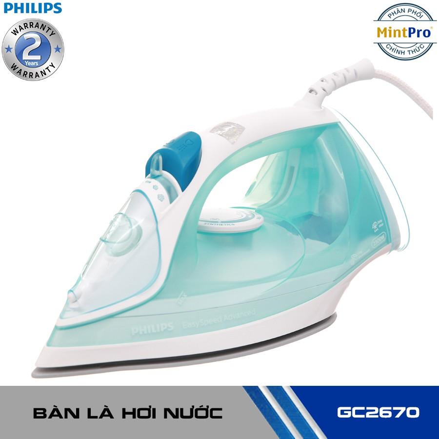 Bàn là hơi nước Philips GC2670