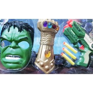 (Freeship đơn 50k) Trò chơi hoá trang thành siêu anh hùng, không lồ xanh bảo vệ trái đất