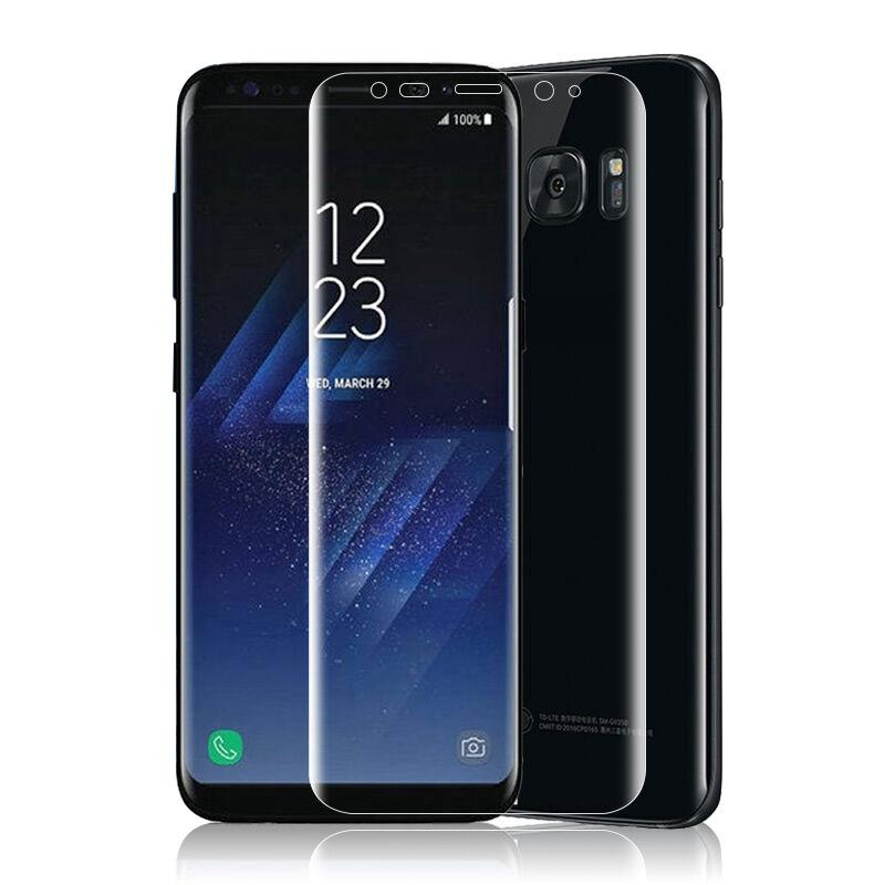 ☽ Anti-scratch 3D PET Film Full Cover screen protector For Samsung Galaxy S8 Moira