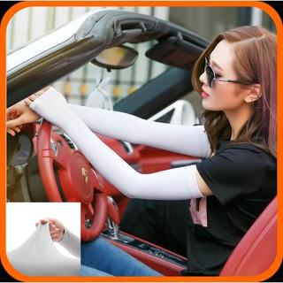 Găng tay chống nắng xỏ ngón chính hãng - bao tay thời trang Hàn Quốc chống nắng hiệu quả, bảo vệ da ngoài trời thumbnail