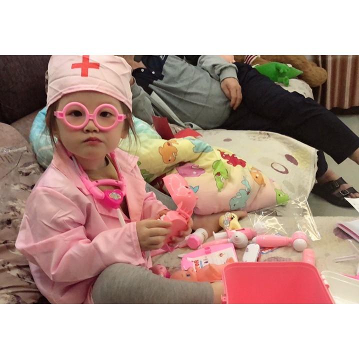 Đồ Chơi Dụng Cụ Y Tế Bác Sĩ Y Tá Nha Sĩ Khám Răng Cho Trẻ Em - Đồ Chơi Giáo Dục Cho Bé Trai Bé Gái
