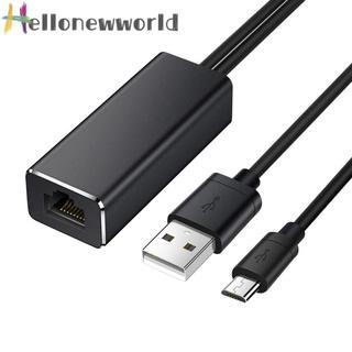 Hellonewworld Ethernet Adapter for Amazon Fire TV Google Home Mini Chromecast Ultra 2 1