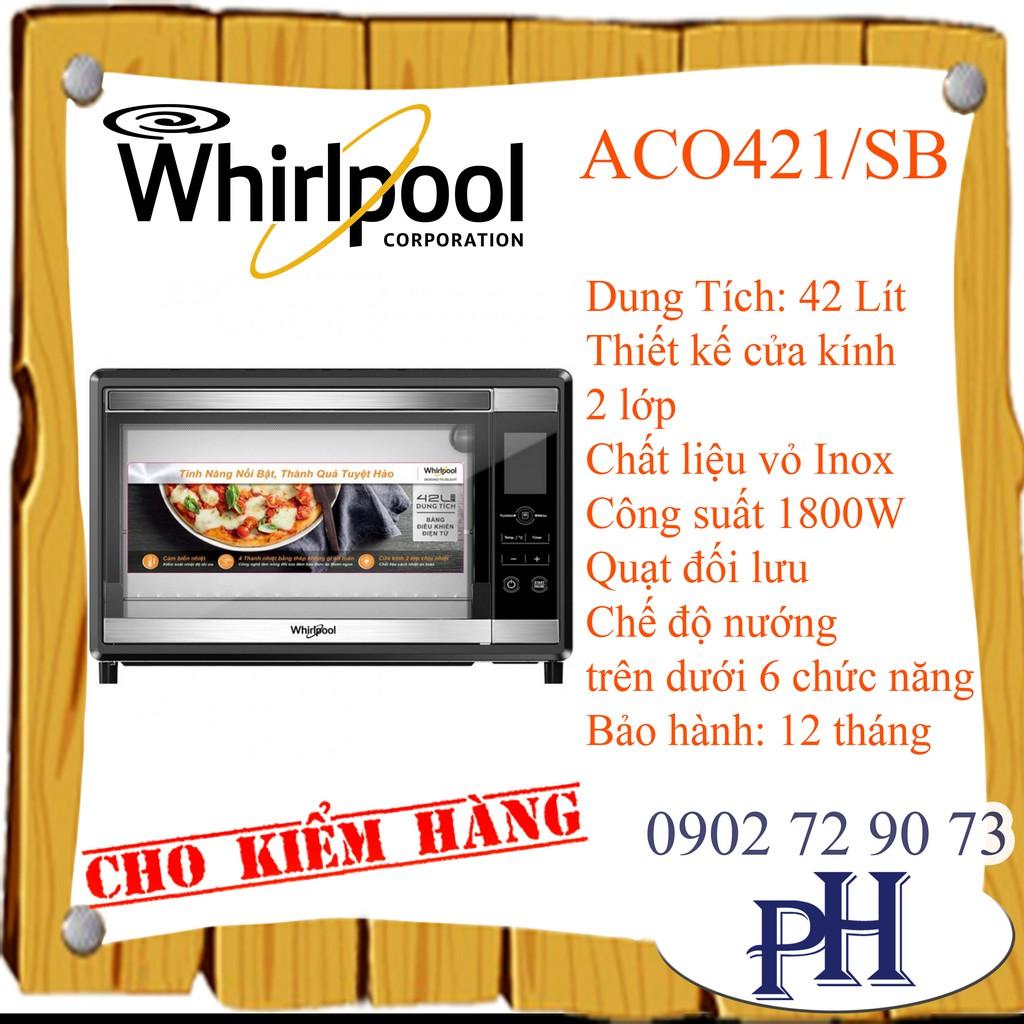 LÒ NƯỚNG WHIRLPOOL 42L ACO421/SB