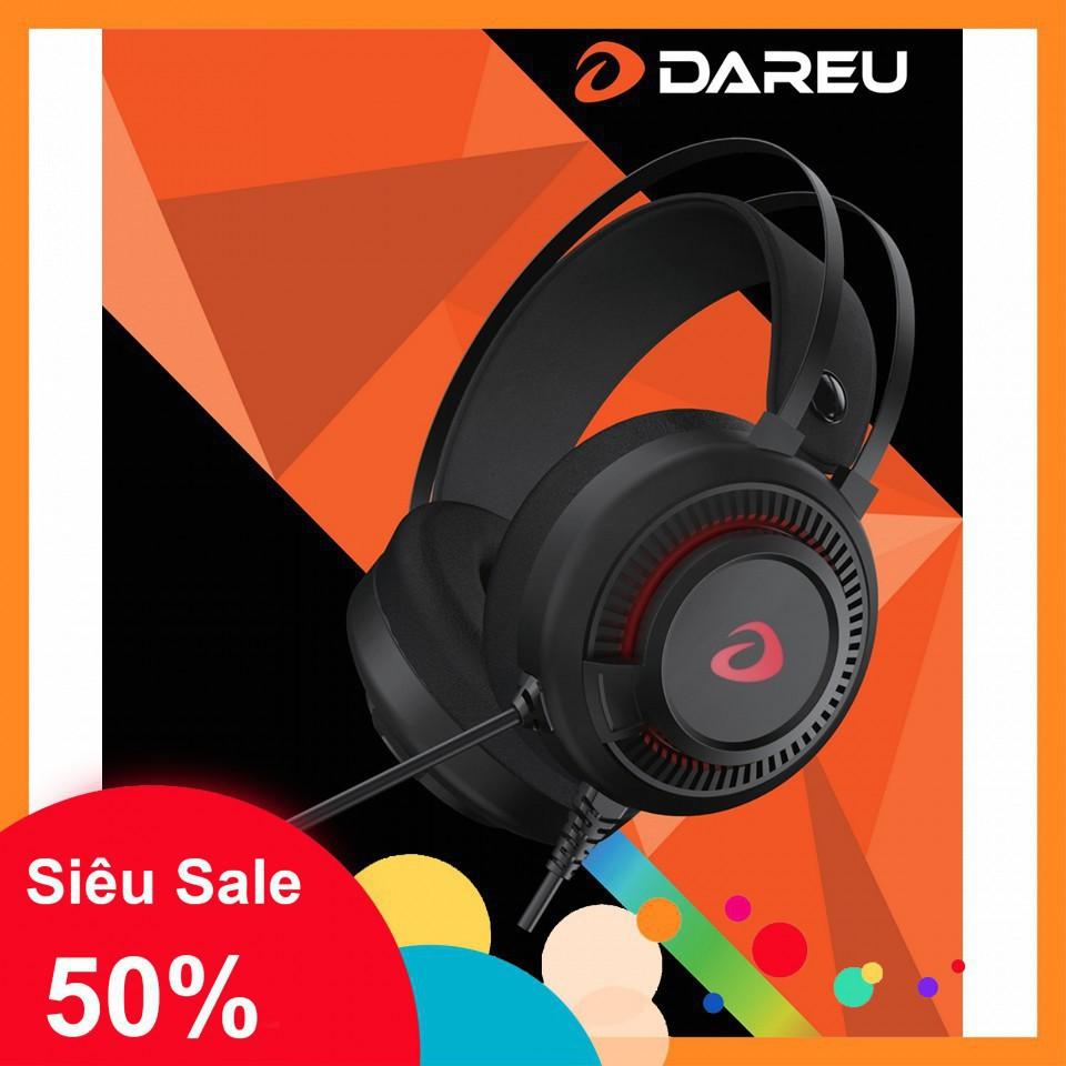 Tai nghe Gaming DareU EH416 USB - Giả lập - Âm thanh 7.1 - BH 12 Tháng