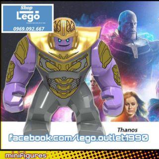 Xếp hình Lego Thanos Bigfigures Endgame Lego Minifigures xh1053 thumbnail