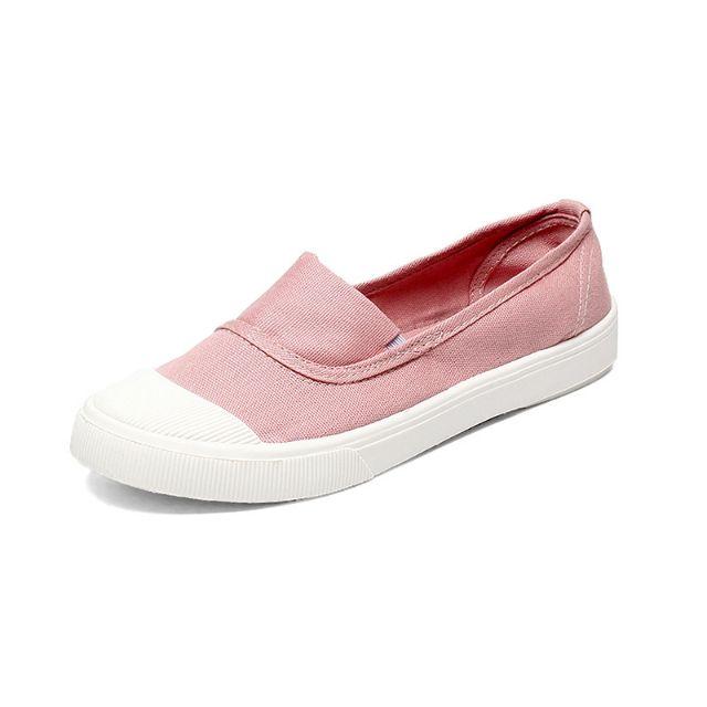 Giày vải lười nữ