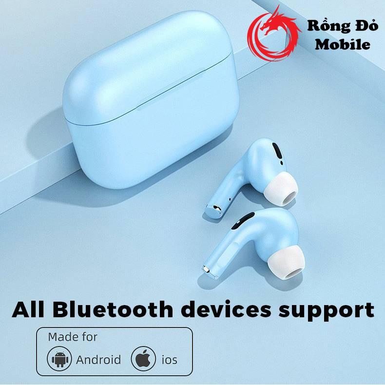 Tai nghe Bluetooth Inpod Pro TWS 5.0 FULL MÀU Cảm Biến VÂN TAY Tự Động Kết Nối Khi Mở - Rồng Đỏ Mobile