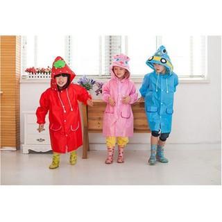 Áo mưa cao cấp hình thú cho bé yêu[Loại 1] thumbnail