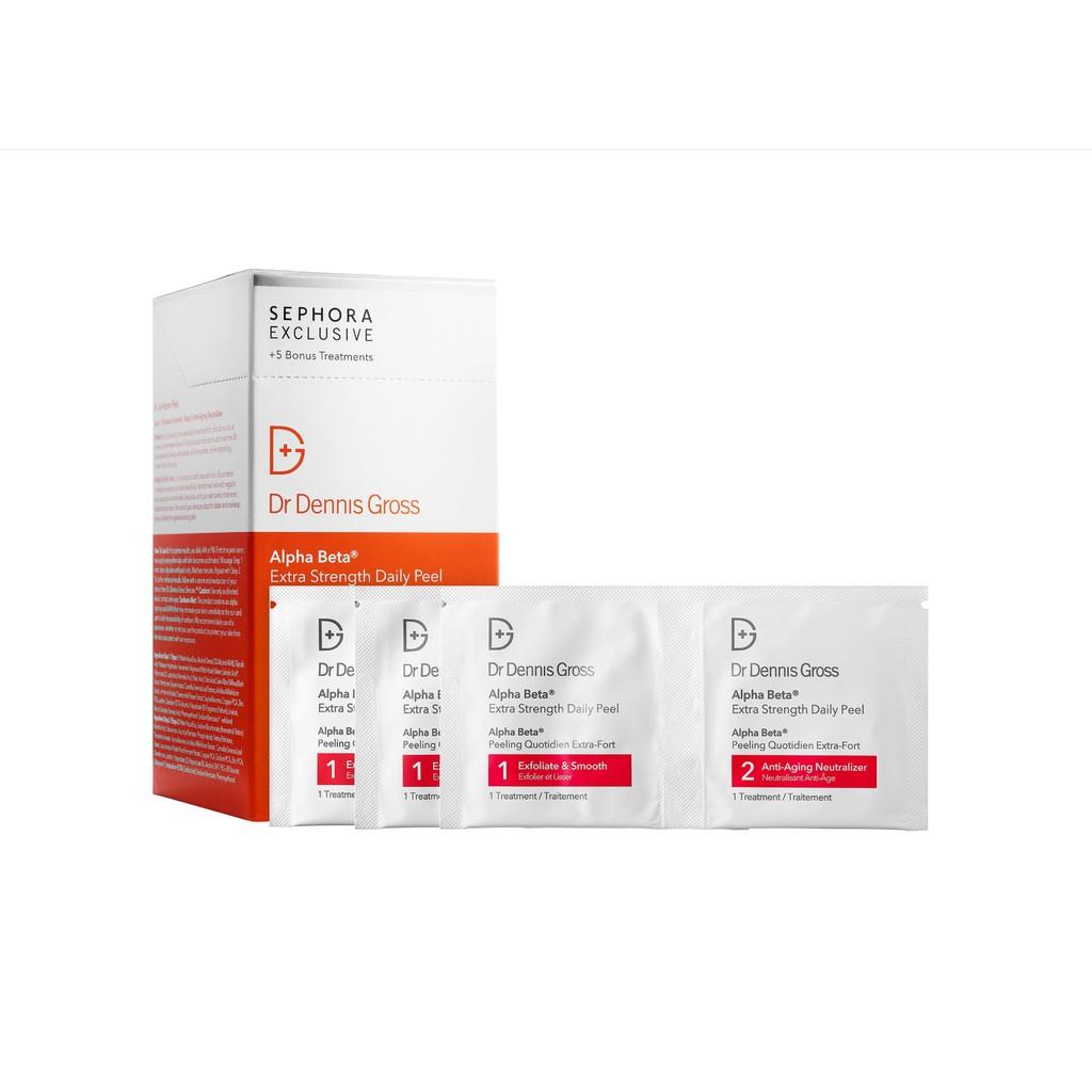 Miếng peel da Dr. Dennis Gross Skincare Alpha Beta® Extra Strength Daily Peel