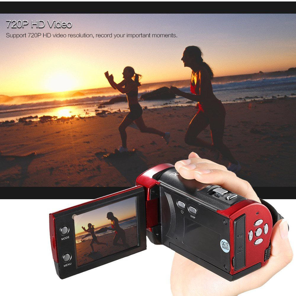 Máy quay phim cầm tay ELITEK HD DIGITAL VIDEO 16X(Đỏ) - 2626238 , 117885533 , 322_117885533 , 639000 , May-quay-phim-cam-tay-ELITEK-HD-DIGITAL-VIDEO-16XDo-322_117885533 , shopee.vn , Máy quay phim cầm tay ELITEK HD DIGITAL VIDEO 16X(Đỏ)