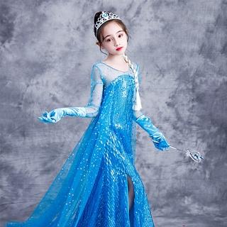 đầm công chúa Hóa Trang Công Chúa Elsa Cho Bé Gái