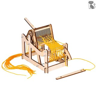 §COD Interesting Scientific Experiment Technology Small-scale Manufacturing Handmade Material Loom Model