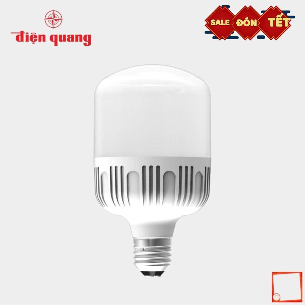 [Hàng chính hãng] Combo 5 Bóng đèn LED bulb công suất lớn Điện Quang ĐQ LEDBU10 40765AW (40W daylight, chống ẩm)