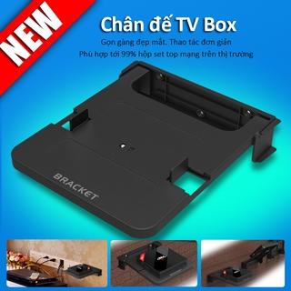 Giá Đỡ Treo Tường TV Box,bộ định tuyến, bộ chuyển đổi tín hiệu, có ốc khoan tường, chắc chắn an toàn TVA00