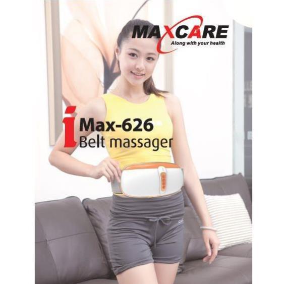 [CHÍNH HÃNG NHẬT BẢN] Đai massage bụng Maxcare Max 626 - Máy Massage Đốt Cháy Mỡ Thừa Vùng Bụng