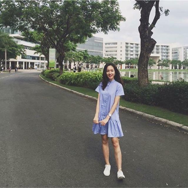 Đầm xanh