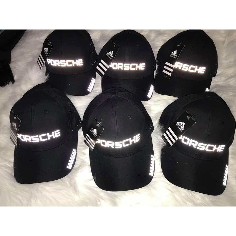 Mũ thời trang cao cấp logo phản quang Porsche vip Mũ/Nón