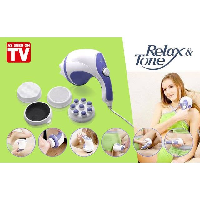 Máy massage cầm tay Relax Spin Tone A781 - 3043934 , 201005239 , 322_201005239 , 159000 , May-massage-cam-tay-Relax-Spin-Tone-A781-322_201005239 , shopee.vn , Máy massage cầm tay Relax Spin Tone A781