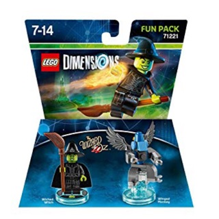 Lego Dimensions Winged Monkey Build Instruction from WICKED WITCH™ FUN PACK 71221