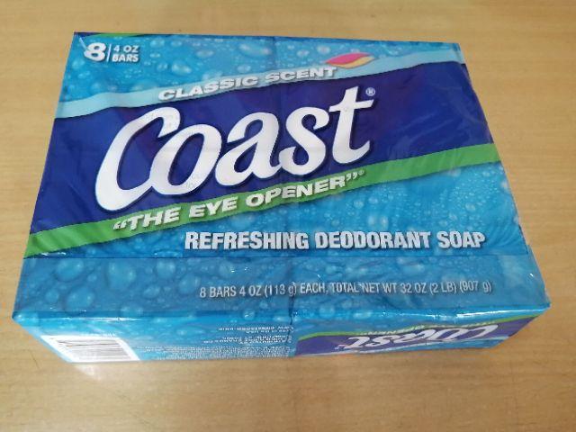 Xà phòng tắm Coast lốc 8bánh