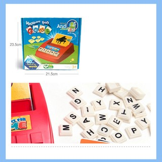 Letter Memory English Letters Machine Durable ABS Colours