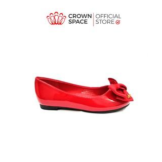 Giày Búp Bê Bé Gái Đi Học Đi Chơi Crown Space UK Ballerina Trẻ Em Cao Cấp CRUK3115 Màu Đen Đỏ, Hồng Size 31-36 6-14 Tuổi thumbnail
