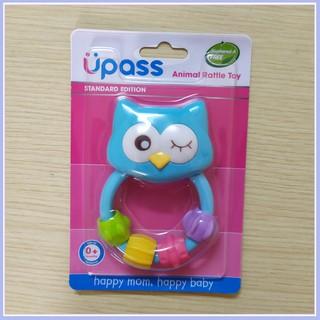 Lục lạc vòng cầm tay Upass- âm thanh sinh động cho bé – Baby Dương Shop