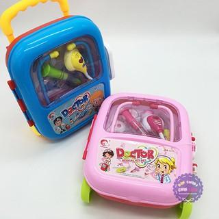 Bộ đồ chơi vali kéo bác sĩ có bánh xe NEW HOT 2018