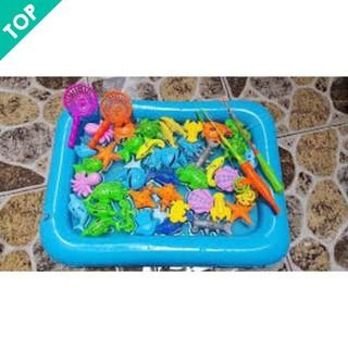 [Giá Rẻ Nhất] – Bể phao câu cá cho trẻ em