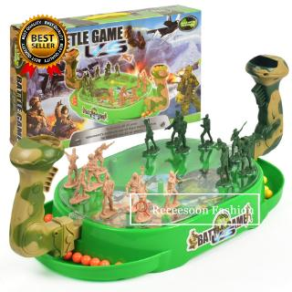 Toys Soldier Model Bounce Battle Game Board Game Family Game Xmas Gift For Boy Toys