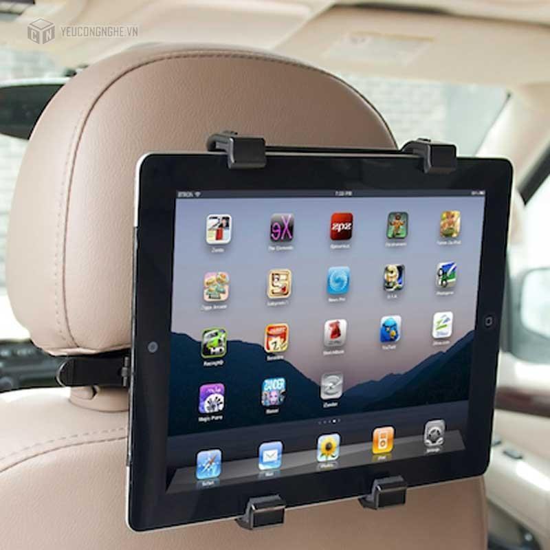 Khung kẹp ipad ghế sau xe hơi kẹp cửa gió máy lạnh ( www10)