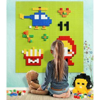 Hãng FELLO – Bộ 8 tấm nền (25.5×51)dán tường Tương thích lego duplo