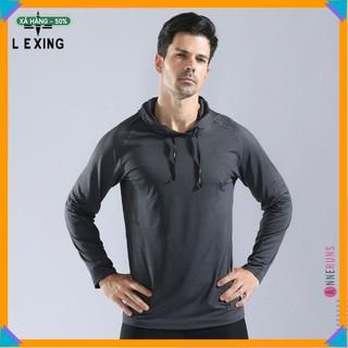 Áo thun phông dài tay thể thao L10857 LeXing (Không Quần) II Đồ Tập Gym Nam Nữ II Nội Địa Trung l
