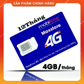 [CHỈ BÁN HÀ NỘI] [CAM KẾT ĐỦ 12 THÁNG] [VT_MaiLinh] Sim 3G 4G Mobifone MDT250A Trọn Gói 1 Năm 4GB/tháng Không Cần Nạp Ti