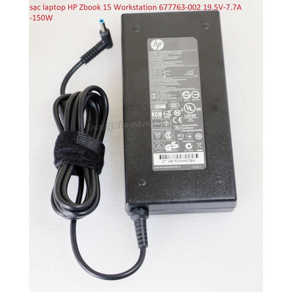 sạc laptop HP Zbook 15 Workstation 677763-002 19.5V-7.7A -150W Giá chỉ 550.000₫