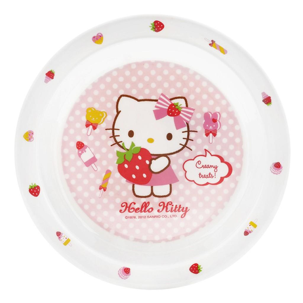 [KITCHEN] Đĩa Tròn Bằng Nhựa Lock&Lock Hello Kitty LKT460 (Ø19 x 2.2 cm)