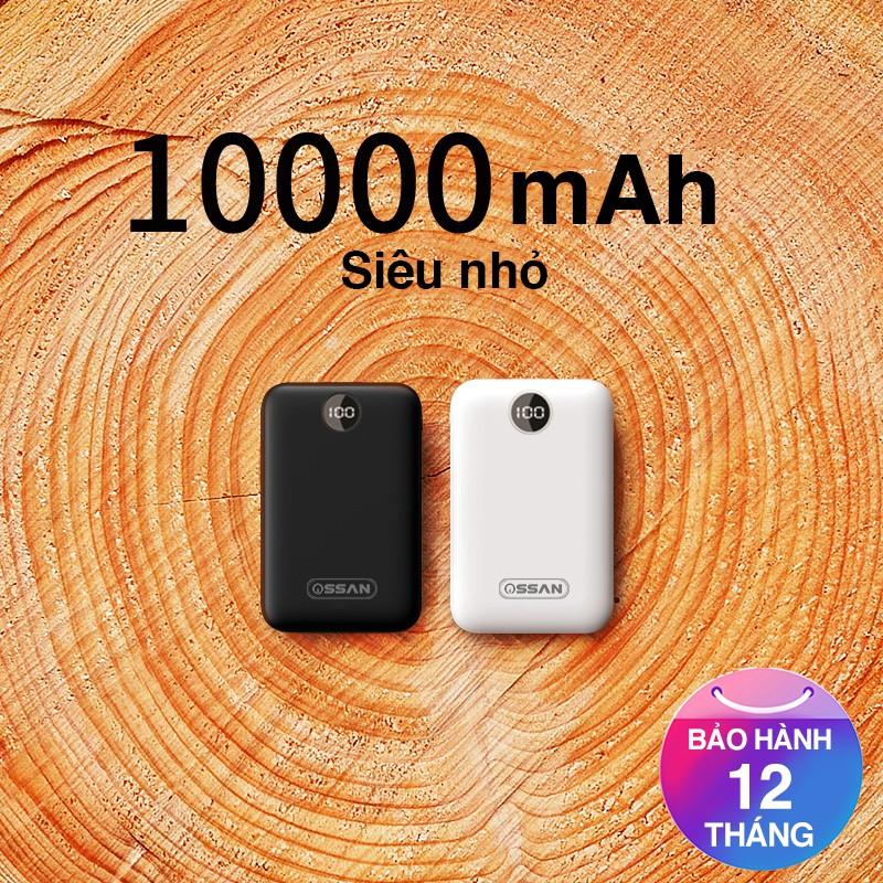 Pin dự phòng 10000 mAh chính hãng Ossan bảo hành 12 tháng OS-PB11