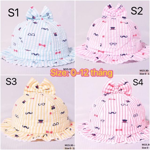 Mũ vải M15 cho bé gái 0-12th - 2591540 , 981450901 , 322_981450901 , 90000 , Mu-vai-M15-cho-be-gai-0-12th-322_981450901 , shopee.vn , Mũ vải M15 cho bé gái 0-12th