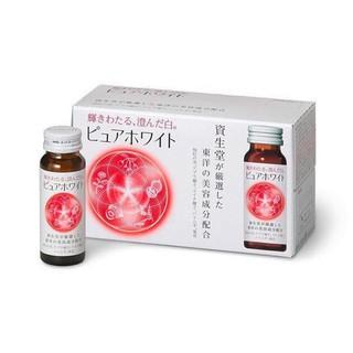 Nước uống Collagen Shiseido Pure White 1 hô p 10 lo - Nhật Bản thumbnail