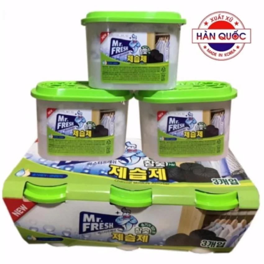 Bộ 3 bình hút ẩm than hoạt tính khử khuẩn Mr Fresh Korea - 2729021 , 943629247 , 322_943629247 , 175000 , Bo-3-binh-hut-am-than-hoat-tinh-khu-khuan-Mr-Fresh-Korea-322_943629247 , shopee.vn , Bộ 3 bình hút ẩm than hoạt tính khử khuẩn Mr Fresh Korea