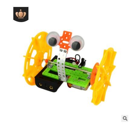 Đồ chơi thông minh, sáng tạo Đồ chơi khoa học STEAM  - chế tạo ôtô rô bốt cho bé (2 bánh)
