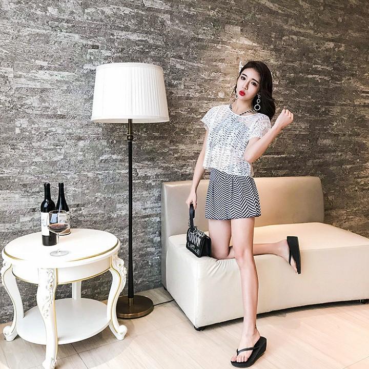 Bộ Bikini Áo Tắm đẹp kèm áo ren | SaleOff247