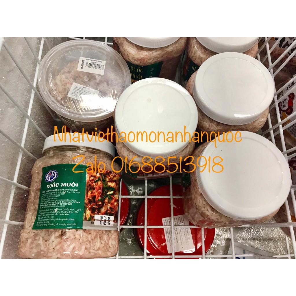 Ruốc tép muối kimchi Hàn Quốc 1kg - 3552852 , 1220379431 , 322_1220379431 , 90000 , Ruoc-tep-muoi-kimchi-Han-Quoc-1kg-322_1220379431 , shopee.vn , Ruốc tép muối kimchi Hàn Quốc 1kg