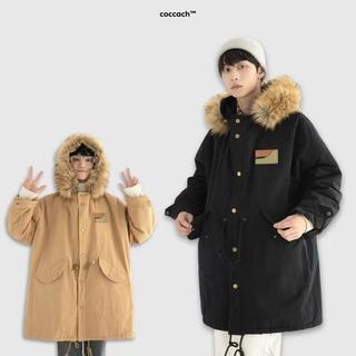 Áo khoác nam nữ cao cấp mũ lông AK052 by COCCACH thumbnail