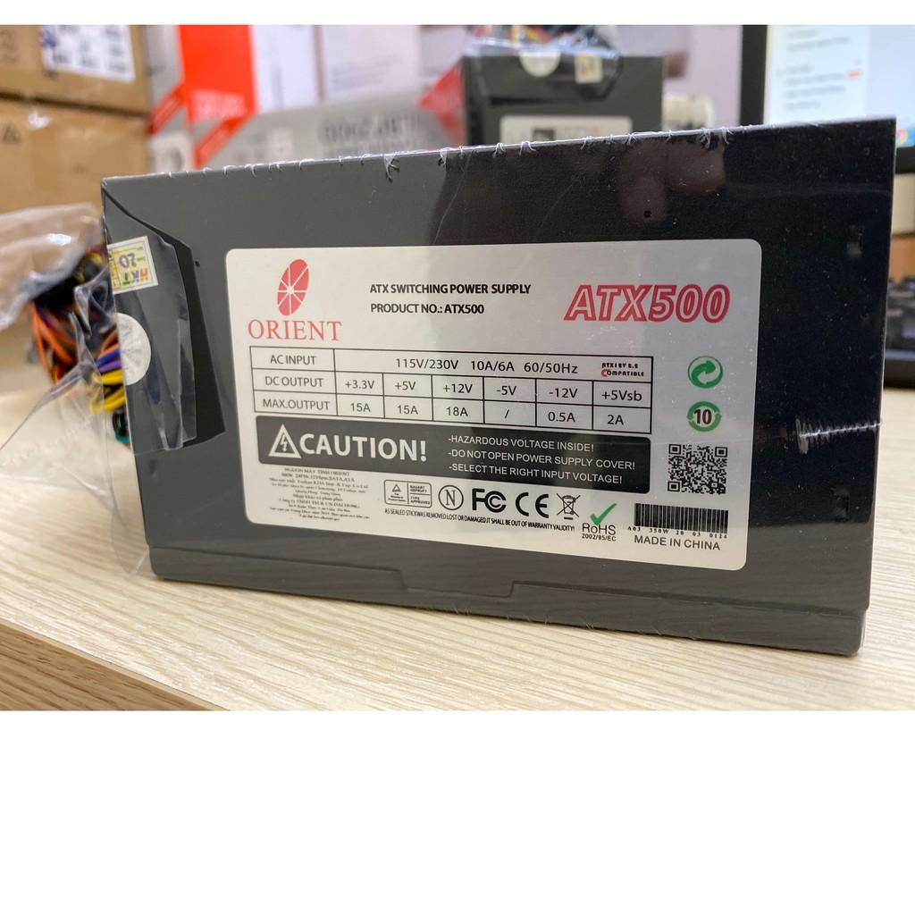Nguồn máy tính Orient 500W - Model ATX500 Bảo hành 36 Tháng