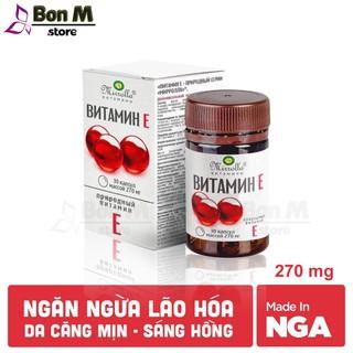 Vitamin E đỏ Nga ⚡FREESHIP⚡ Tái tạo da, ngăn ngừa lão hóa, mang đến vẻ đẹp trẻ trung, tự nhiên cho chị em phụ nữ