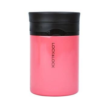 Hộp giữ nhiệt đựng thức ăn Lock&Lock New Wave Food Jar 500ml- màu hồng [LHC8024DPK]