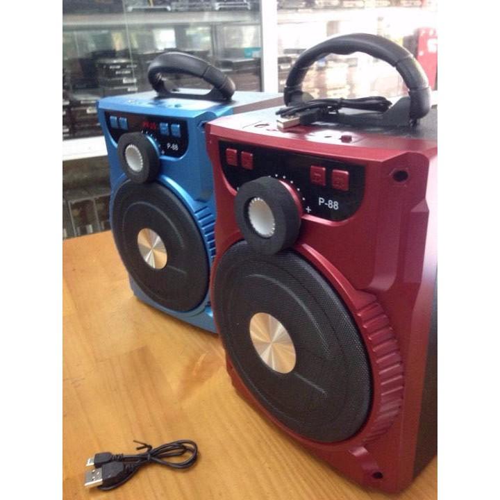 [GIÁ HẤP DẪN] Loa Bluetooth Karaoke P87/88/89 Chính hãng cực tốt