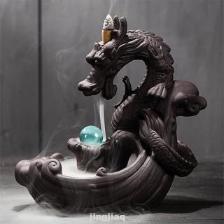 Đế Đốt Trầm Hương Hình Rồng